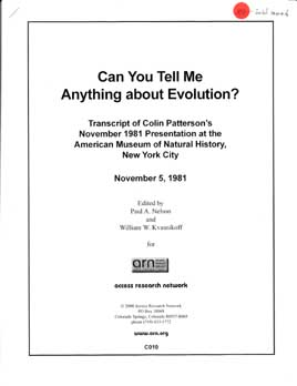Can you tell me anything about Evolution?